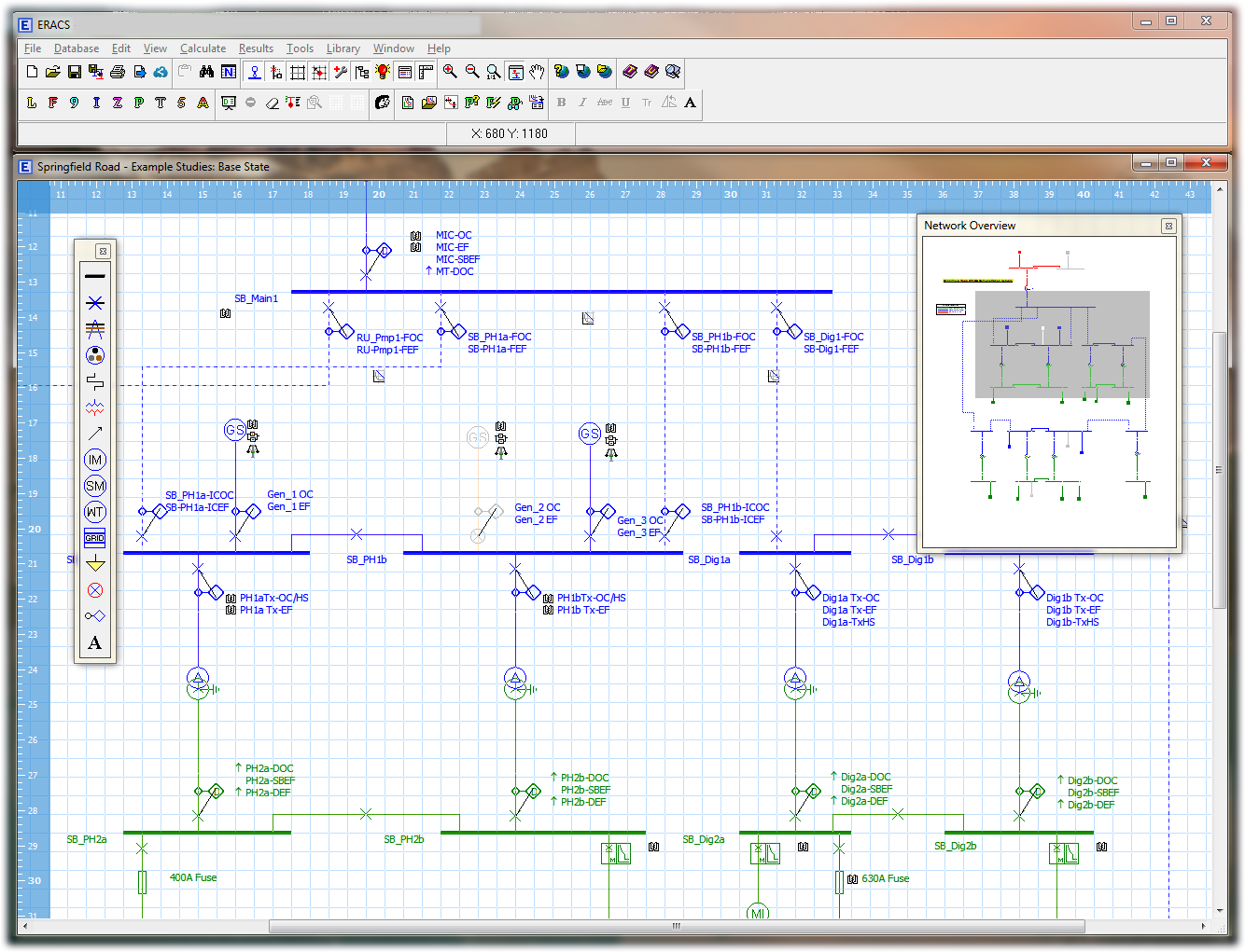 ERACS | ERACS - Power Systems Analysis Software | RINA